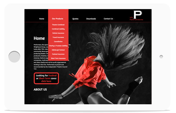 7 page web design package in East Sussex